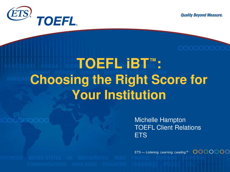 Tes TOEFL Online, Gratis!